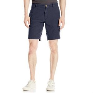 Tailor Vintage chino shorts navy blue - 36